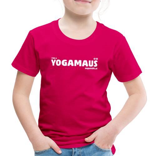supatrüfö YOGAMAUS - Kinder Premium T-Shirt