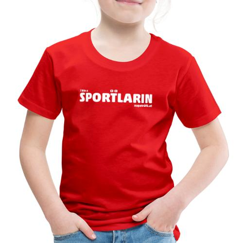 i bin a supatrüfö sportlarin - Kinder Premium T-Shirt
