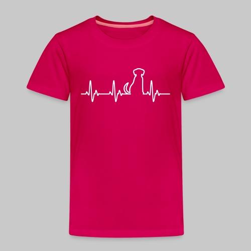 Hunde Herz - Kinder Premium T-Shirt