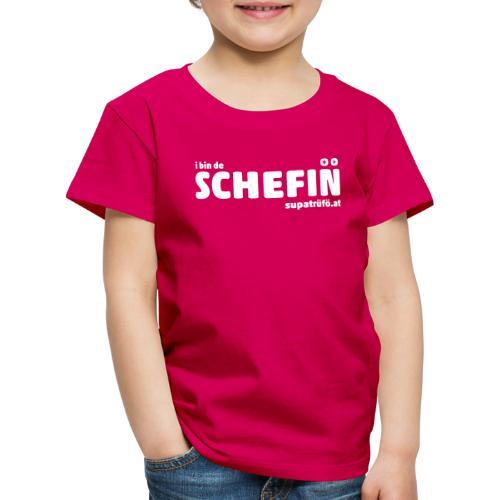 supatrüfö SCHEFIN - Kinder Premium T-Shirt
