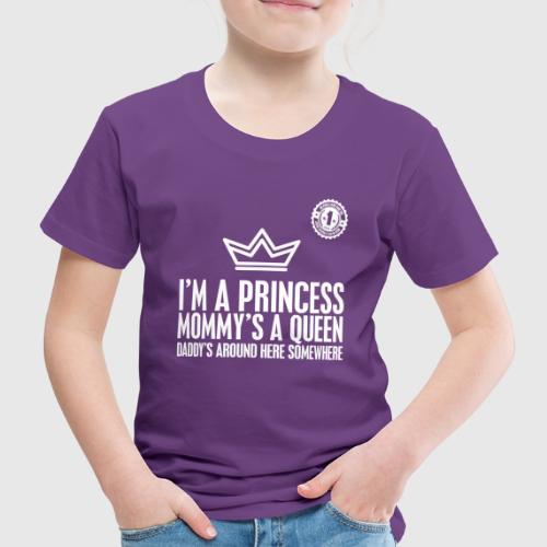 PRINCESS png - Børne premium T-shirt