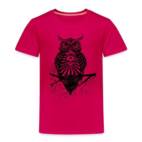 Hibou Psychédélique - T-shirt Premium Enfant