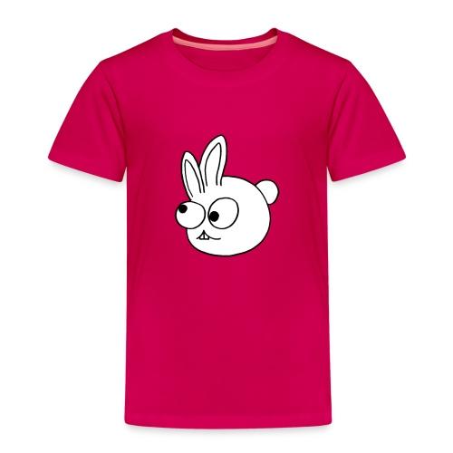 Kinderlijk getekend grappig konijntje - Kinderen Premium T-shirt
