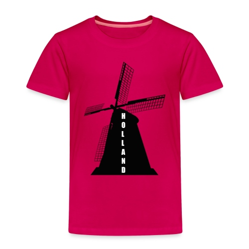 windmuehle Holland - Kinder Premium T-Shirt