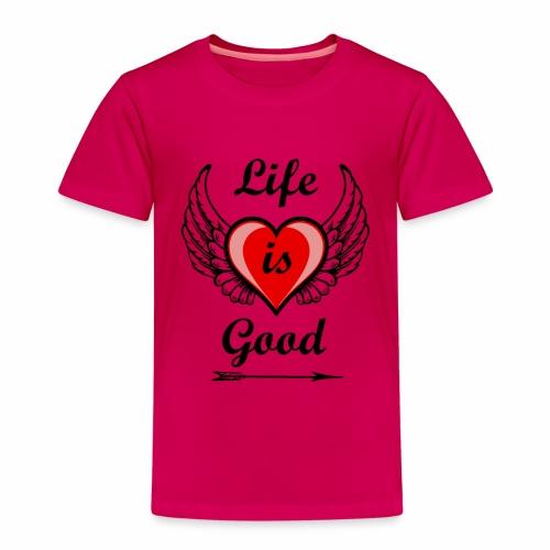 Lifeisgoods - Kinder Premium T-Shirt