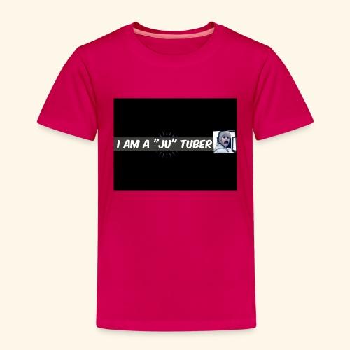 I am a JU Tuber - Kinder Premium T-Shirt