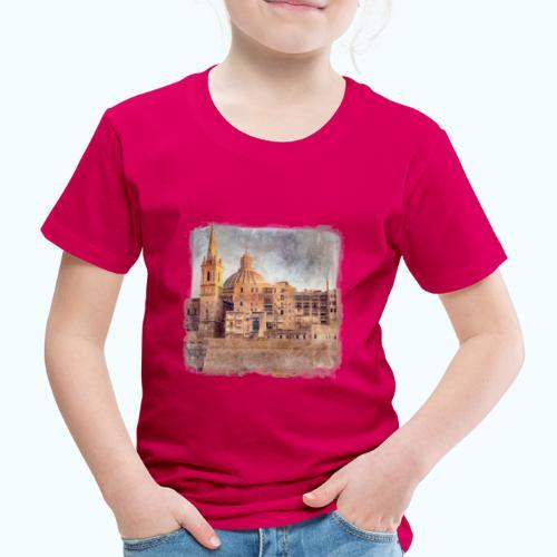 Valletta Malta Vintage Design - Kids' Premium T-Shirt