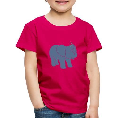 Little elephant - Kinder Premium T-Shirt