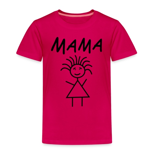 Mama by www.mamapapakind.spreadshirt.de - Kinder Premium T-Shirt