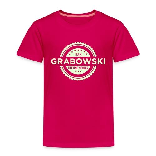 Team Grabowski - Premium-T-shirt barn