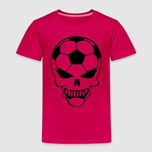 Fußball-Totenkopf - Kinder Premium T-Shirt