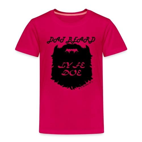 MENS Dat Beard Lyfe Doe long sleeve t-shirt - Kids' Premium T-Shirt