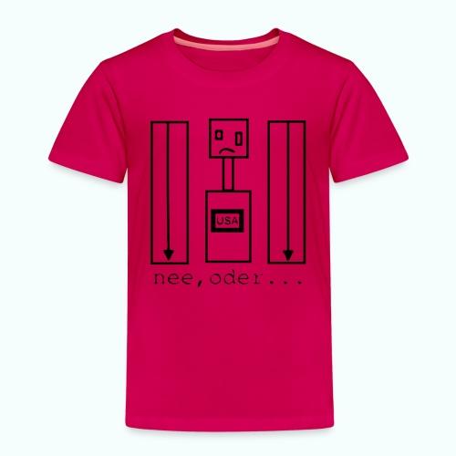 usa ... nee, oder - Kinder Premium T-Shirt