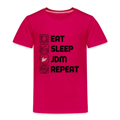 Eat. Sleep. JDM. Repeat. - T-shirt Premium Enfant