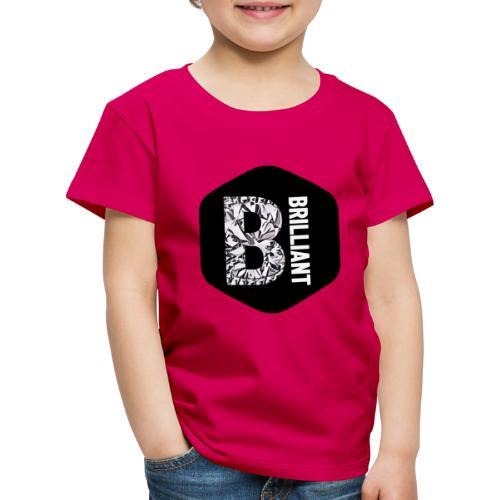 B brilliant black - Kinderen Premium T-shirt