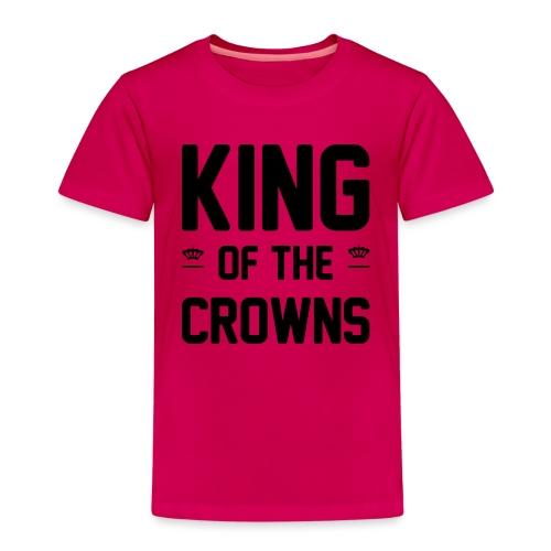 King of the crowns - Kinderen Premium T-shirt