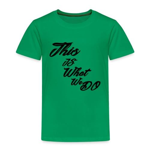 this is what we do bmx mountain bike skater tshirt - Kids' Premium T-Shirt
