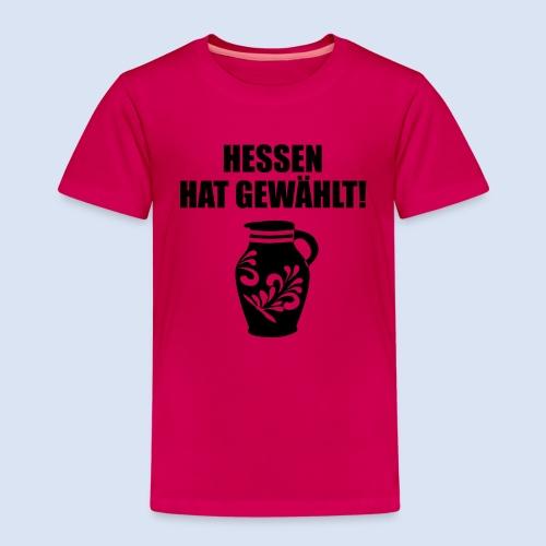 Hessenwahl Bembel - Kinder Premium T-Shirt