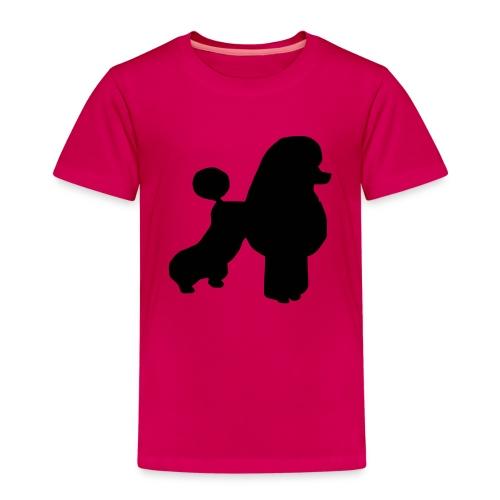 Tygkasse med pudelmotiv - Premium-T-shirt barn
