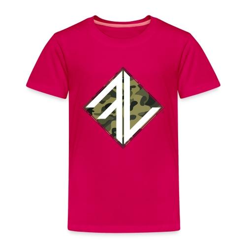 Logo Square FV Camo - Kinderen Premium T-shirt