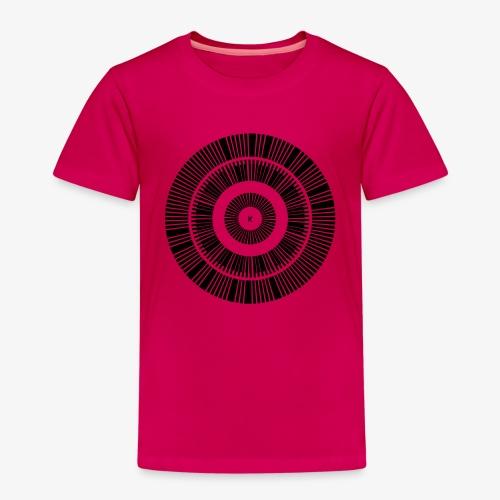 Kunstrukt Barcode Kreis - Kinder Premium T-Shirt