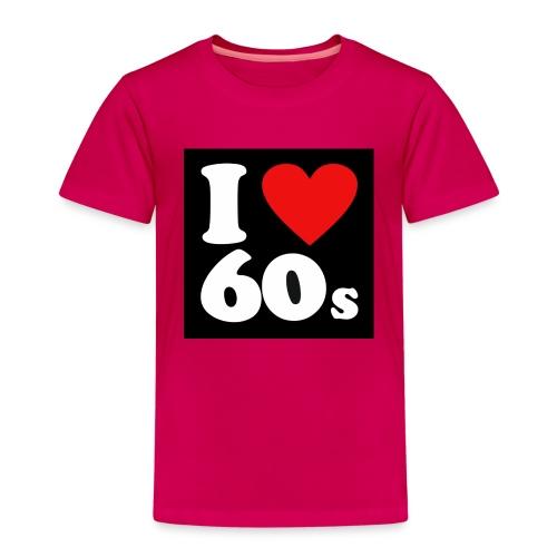 i Love 60s - Børne premium T-shirt