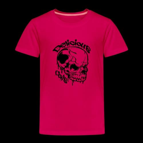 Logo Mode Schwarz - Kinder Premium T-Shirt