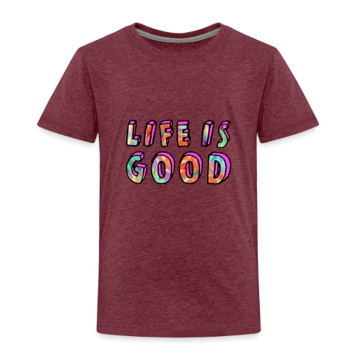 LifeIsGood - Kids' Premium T-Shirt