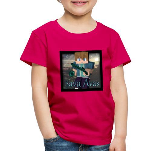 Sava Avas logo - Premium T-skjorte for barn