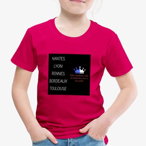 Meilleures villes de France - T-shirt Premium Enfant