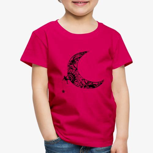 Luna - climb to the stars - Kids' Premium T-Shirt