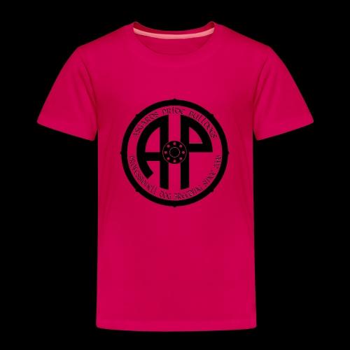 Logo 2019 Schwarz - Kinder Premium T-Shirt