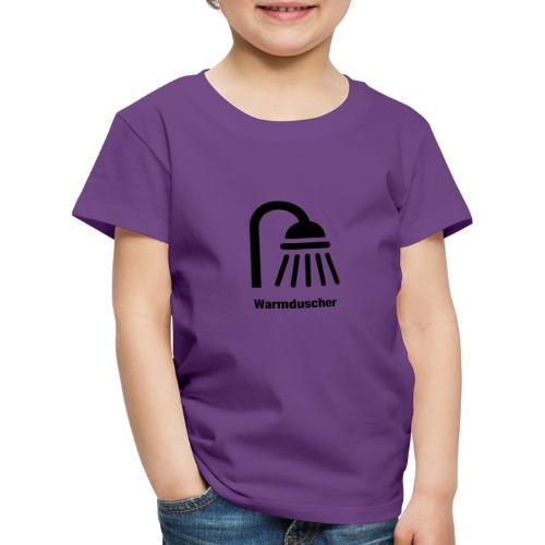 Warmduscher - Kinder Premium T-Shirt