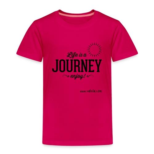 Valeila life is a journey 2 - Maglietta Premium per bambini