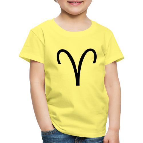Widder - Kinder Premium T-Shirt
