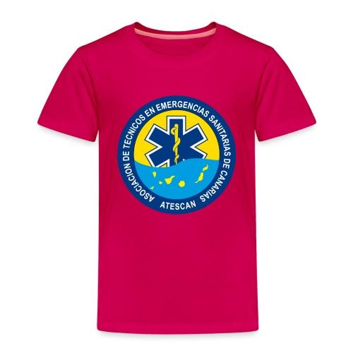 ATESCAN COLOR - Camiseta premium niño