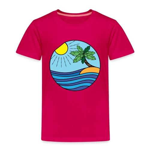 Strand Bunt - Kinder Premium T-Shirt
