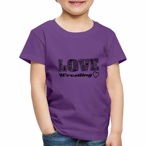 Black Love Wrestling - Kinder Premium T-Shirt
