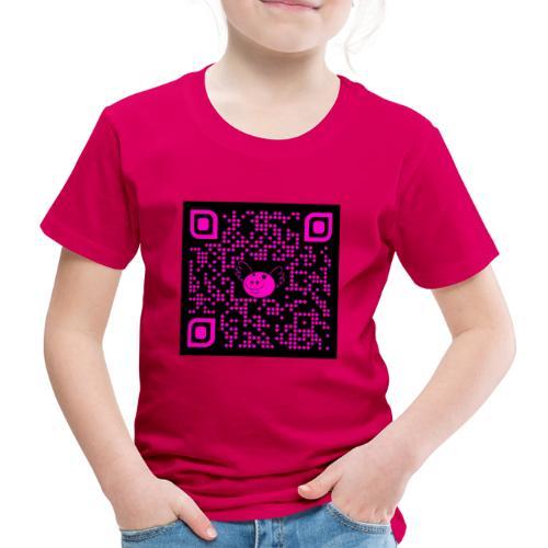 QR Pigs Can Fly - Camiseta premium niño