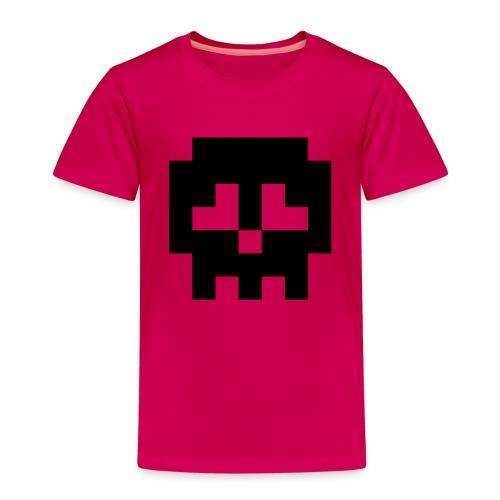 Retro Gaming Skull - Kids' Premium T-Shirt