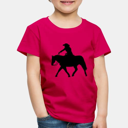 Ranch Riding extendet Trot - Kinder Premium T-Shirt