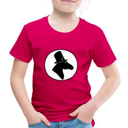 Herr Pferd Logo - Kinder Premium T-Shirt