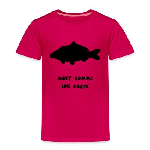 expression_carpe_muette (1 couleur modifiable) - T-shirt Premium Enfant