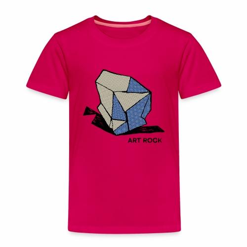ART ROCK No 1 colour - Kinderen Premium T-shirt