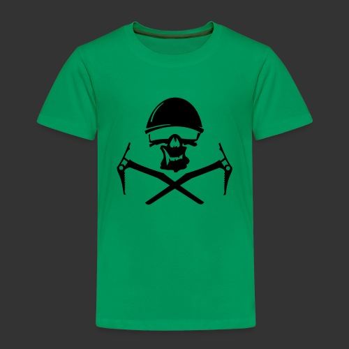 Climbing Skull - Kinder Premium T-Shirt