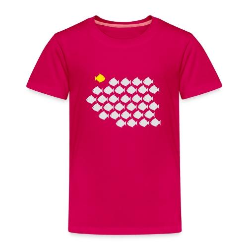 Verandervis - durf anders te zijn - Kinderen Premium T-shirt