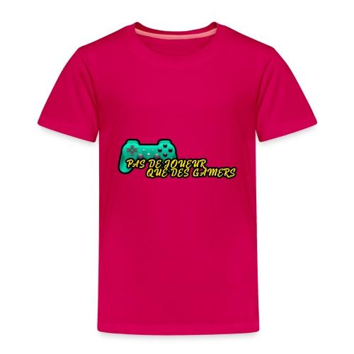 DESIGN FASHION Pas de joueur que des gamers - T-shirt Premium Enfant