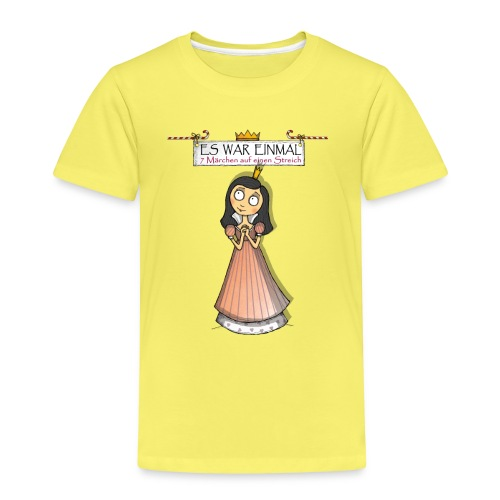 ES WAR EINMAL Schneewittchen - Kinder Premium T-Shirt