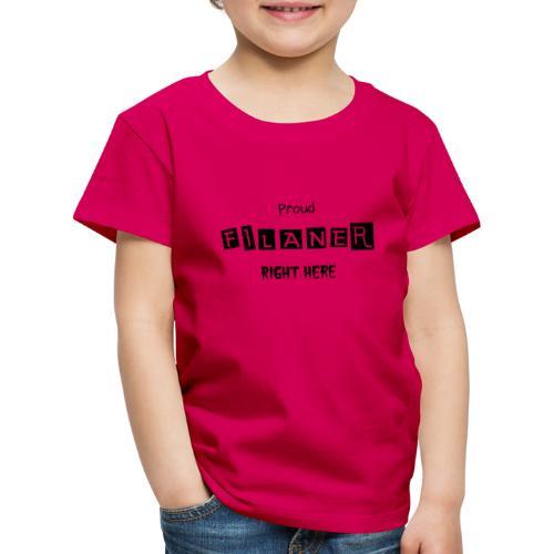 Proud Filaner - Børne premium T-shirt