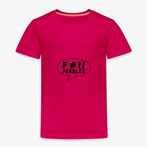 pebbles skateboarding shirt - Premium T-skjorte for barn